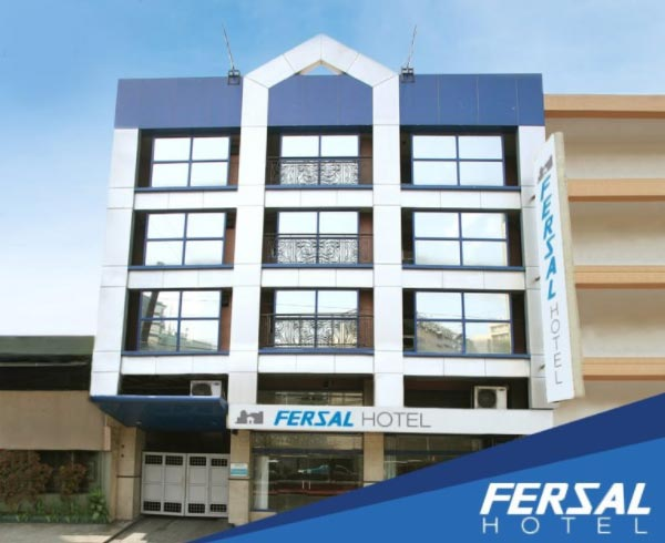 Decent accommodation on a limited budget only only at FERSAL Hotel Manila